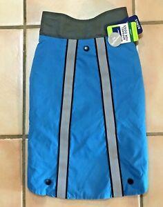 NWT Top Paw Large 2 in 1 Reflective Rain Coat + Sweater Blue Gray 4 Stylish Dog