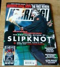 Kerrang! magazine #1778 2019 Slipknot, Download, Killswitch Engage, Alter Bridge