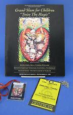 Andre Agassi Foundation Grand Slam Children Program Ticket Volunteer Badge 1996