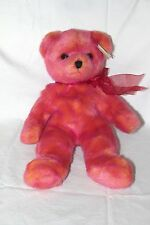 Ty Plush Classic Bear Rouge Mint w/tags 11 inches Stuffed Teddy Bear Buddy Toy