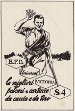 Z3731 Cartucce da Caccia Universal - Pubblicità d'epoca - 1940 old advertising