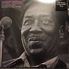Muddy Waters 'Live At Theatre 1839 San francisco 1977 - 180g vinyl lp -Brand New
