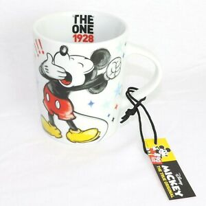 DISNEY Kaffeebecher * MICKEY MOUSE show star * Kaffeetasse Teetasse Pott Keramik