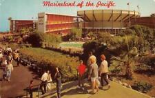 MARINELAND OF THE PACIFIC Palos Verdes Peninsula, CA Oceanarium c1960s Postcard