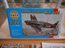 Modelkit SMER Morane Saulnier MS 406 on 1:72 in Box