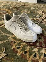 Nike 315122-111  Air Force 1 Men's Shoes - White Size 12