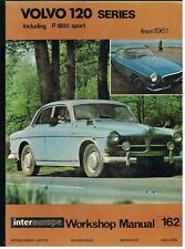 VOLVO 120 AMAZON 1800 COUPE & 1800ES ESTATE 1961 - 1973 OWNERS WORKSHOP MANUAL
