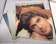"Engelbert Humperdinick 12"" Vinyl LOT of 4 Loves Only Love/Love Letters/ Golden"