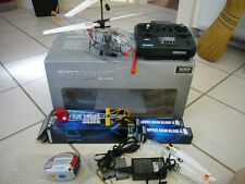 Hirobo XRB Lama Sky Robo RC Helicopter with New Parts