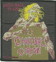 CANNIBAL CORPSE eaten back 1992 WOVEN SEW ON PATCH official no longer made RARE