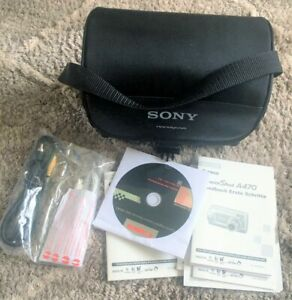 Sony LCS-DHM3 Carry Case For Handycam and Cybershot Cameras