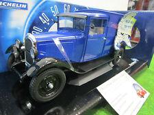 CITROËN C4 F 1930 MICHELIN PAS DE PNEUS TROP PETITS 1/18 SOLIDO 15123500 voiture