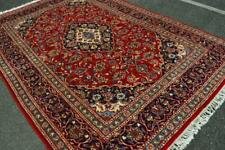 6'7x9'10 Traditional Design Rare Size S Antique Handmade Oriental Wool Area Rug