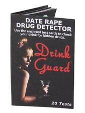 Drink Spike Guard Date Rape Drug Detector Personal Drink Safety Self Security