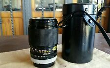 Canon FD 135mm f2.5 135 2.5 / A1 AE1 Program T90 Sony A7 nex mirrorless