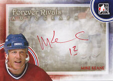12-13 ITG Mike Keane Auto Forever Rivals Autograph Canadiens