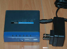 Linksys Cisco PSUS4 PrintServer for USB with 4-port Switch