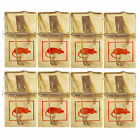 8 Traditional Wooden Mouse Traps Mice Trap Rodent Traps Reusable and Durable