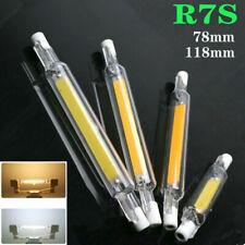 R7S 15W/30W LED COB Dimmbar Glas Ersetzen 78mm/118mm hlampe Halogen lampe AC220V