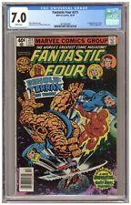 Fantastic Four 211 (CGC 7.0) 1st app. Terrax; Galactus; Byrne; Newsstand (j#6743
