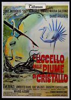 Manifesto L' Vogel aus Den Federn Von Crystal Dario Argento Ennio Morricone P10
