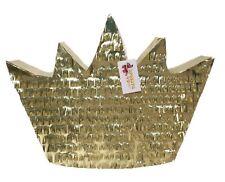 APINATA4U Gold Crown Pinata