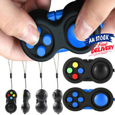 Fidget Pad Children ADHD/Anxiety Cube Toy GC Time Killing For Finger Toys