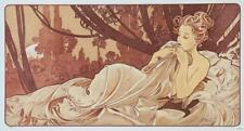Alphonse Mucha Dusk Limited Edition Fine Art Lithograph S2