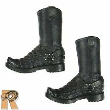 Gangsters Kingdom Diamond 2 - Boots w/ Pegs - 1/6 Scale- DAM Toys Action Figures