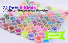 Glitter Loose Powder Assorted Shade Eye Shadows