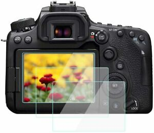 Screen Protector for Canon EOS 7D Mark II 90D 80D 77D Camera, 8H Hardness