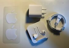 Apple EarPods with Lightning Connector, Charger and Cable, Stickers