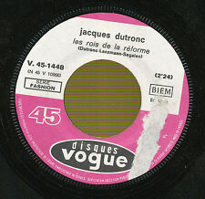 JACQUES DUTRONC 45 TOURS FRANCE LE PLUS DIFFICILE