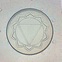 Flexible Resin Or Chocolate Mold Root First 1st Chakra Lotus Flower Mould