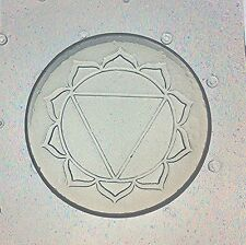Flexible Resin Or Chocolate Mold Solar Plexus Third 3rd Manipura Chakra