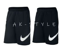 87a35c5761a8 Nike Mens Club Shorts Fleece Club Logo Pockets Logo Casual Summer Black Navy