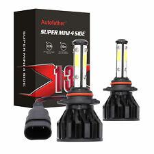 2200W LED 9005 HB3 H10 Hi Lo Beam Car Vehicle Headlight Bulb White Kit 6000K New