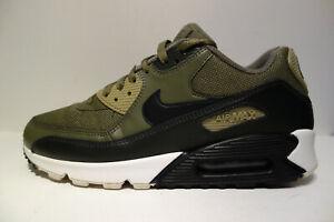Nike Air Max 90 schwarz weiss olive Gr.42,5
