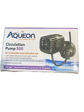New! Aqueon Circulation Pump 500 For Aquariums 20-40 Gallons