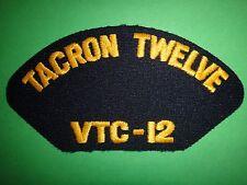 US Navy Machine Embroidered Patch: TACRON TWELVE VTC-12