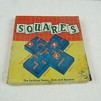 Vintage The Game Of Squares Board Game, 1950's, W. H. Schaper Mfg Co