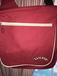 NEW Baileys Irish Cream Sling Satchel Backpack Book Bag