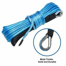 Synthetic winch steel wire trailer rope