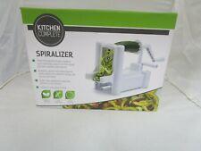 KITCHEN Vegetable Spiralizer - White
