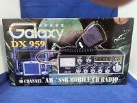 Galaxy DX-959 AM SSB CB Radio DX959 PRO TUNED, ALIGNED, RECEIVER UPGRADES