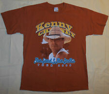 2006 Kenny Chesney Concert T Shirt The Road & The Radio Tour Mens M - L Rustic