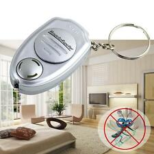 Ultrasonic Mosquito Repeller Pest Bug Repellent fly flying Insect Keychain TBFÑと