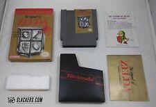 Legend of Zelda (Nintendo Entertainment System) COMPLETE w/ Grey Cart NES RPG
