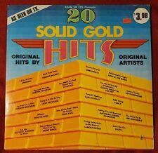 """20 Solid Gold Hits"" Vinyl LP, Adam VIII A8016, 1975 Cutout VG"