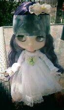 Blythe Doll Clone Customized Nbl Shiny Face Bjd With Outfit And Accessories Neo